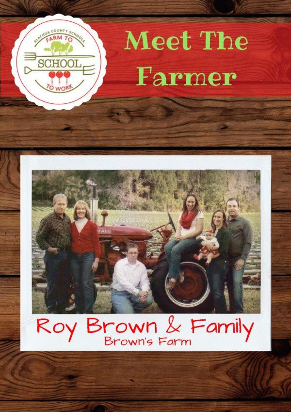 Meet the Farmer: Roy Brown & Family (Brown's Farm)
