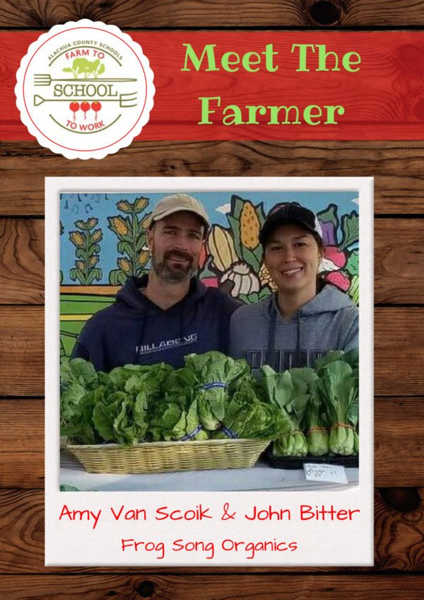 Meet the Farmer: Amy Van Scoik and John Bitter (Frog Song Organics)