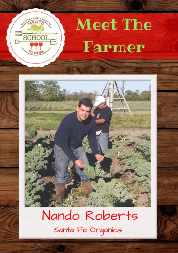 Meet the Farmer: Nando Roberts (Santa Fe Organics)