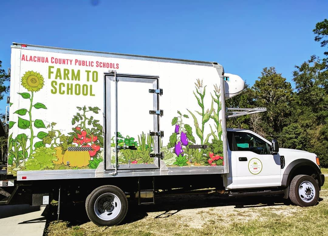 The Farm to School truck