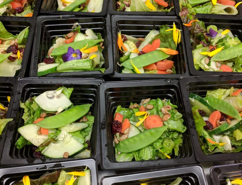 Farm to School Garden Salads!